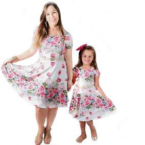 Vestidos Tal Mãe Tal Filha Godê Moda Evangélica