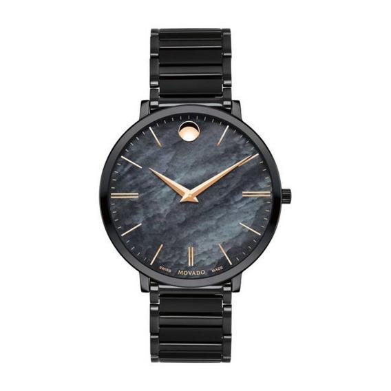 Reloj Movado 607211 Acero Inoxidable Negro Mujer