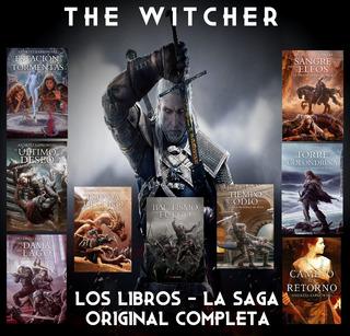 Geralt De Rivia - The Witcher Libros Saga Completa