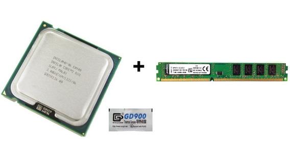 Intel Core2duo Processor E8400 3.00ghz+2 Memórias Semi Novo
