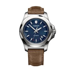 Relógio Victorinox 241834 I.n.o.x. Couro Marrom Original