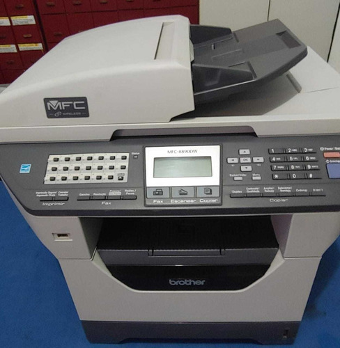 Impressora Laser Brother Mfc 8890dw - Seminova Completa