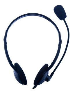 Fone De Ouvido Headset Nipponic 602mv Pc P2 Com Microfone
