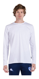 Camiseta Volga Manga Larga Blanco Hombre Kappa
