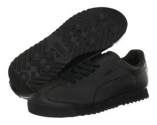 Tenis Puma Roma Basic 100% Originales Color Negro