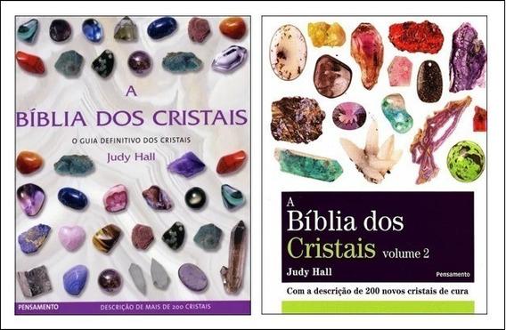 Kit A Bíblia Dos Cristais - Vol. 1 E 2 - Judy Hall