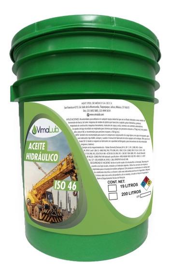 Aceite Hidráulico Iso 46 Vimalub Cubeta [19 L]