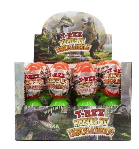 Huevo Dinosaurio T Rex 30 Unidades Golosinas, Piñatas Dulces