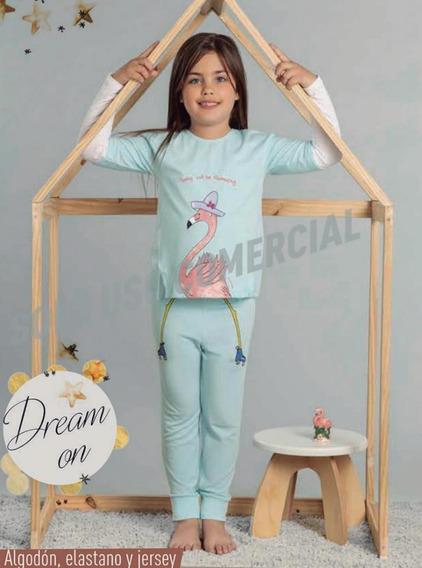 Pijama Invierno Nena Manga Larga Pantalon Promesse 12403
