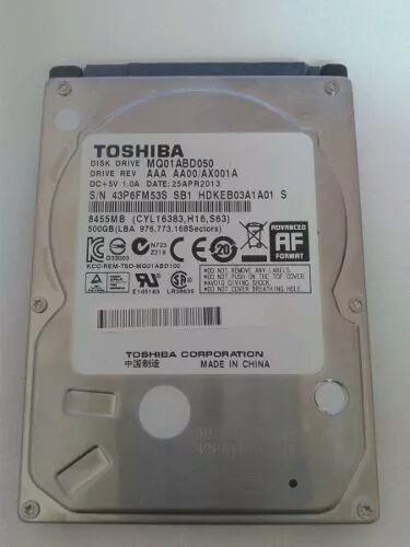 Hd Toshiba 500 Gb Notebook