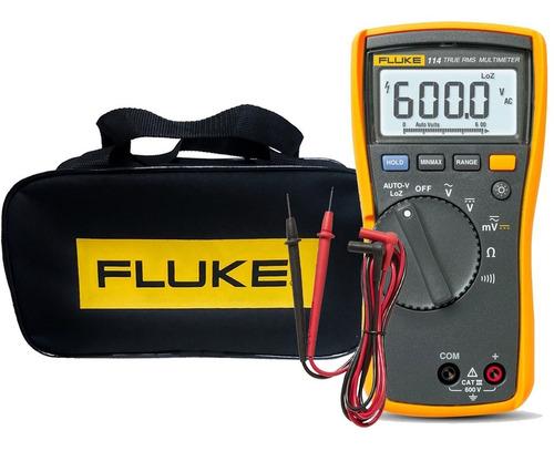 Multimetro Elétrico Fluke 114 True Rms