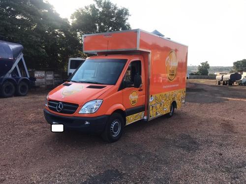 Sprinter 311   Ano 2013  Furgão  -equipada Com Food Truck