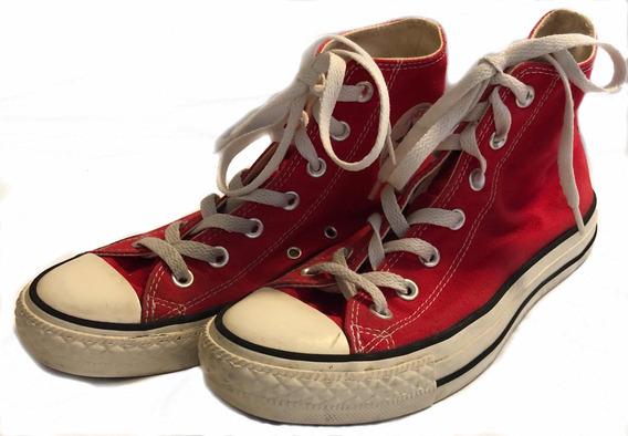 All Star Converse Cano Longo Vermelho - 37