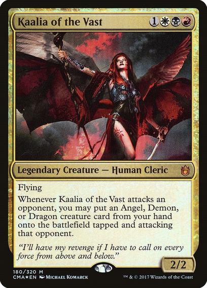 Deck Kaalia Of The Vast - Commander