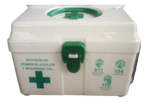Imagen 1 de 10 de Botiquín Primeros Auxilios Seguridad Vial El Mejor En Oferta