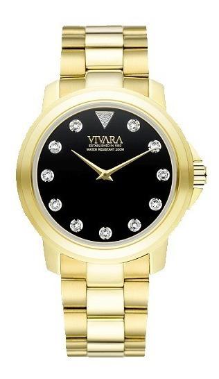 Relógio Vivara Coleção 55 Anos C Diamantes- Edição Limitada