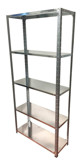 Estantería Metálica Prontometal Galvanizada 50kg Por Estante