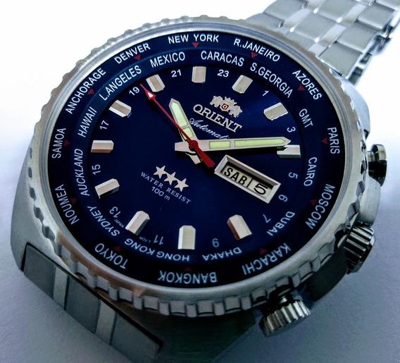Relógio Orient Gmt 469ss057 Automático - Original - A Vista