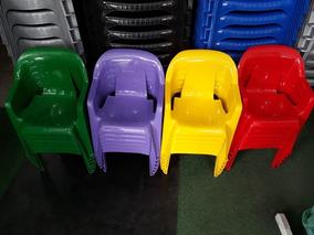 Cadeirinha Plastica Infantil Poltrona Criança Kit 200 Unid