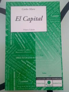 El Capital Carlos Marx Libro Nuevo