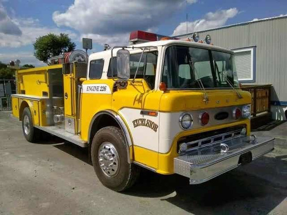 Ford F 8000 Fire Truck