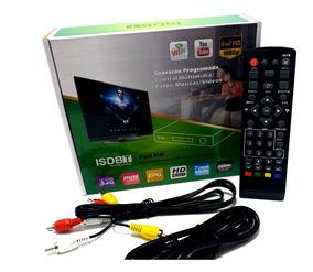 Conversor Digital P/ Tv Wi-fi Youtube Gravador Usb Hd1080