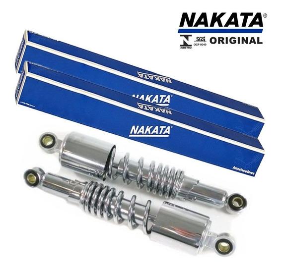 Amortecedor Traseiro Mirage 150 Cromado Original Nakata