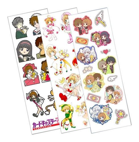 Plancha De Stickers De Anime De Card Captor Sakura Syaoran 2