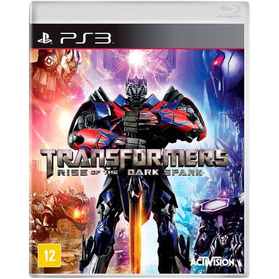 Transformers Rise Of The Dark Spark Ps3 Novo Mídia Física