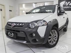 Fiat Strada 1.8 Adventure Ce 2015 Branca Flex
