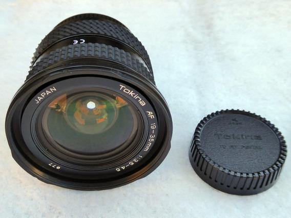 Lente Tokina 19-35mm, Full- Frame, Mount Pentak - K