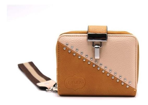 Mini Billetera Lima Importada Mujer Tachas I186 Mapleweb
