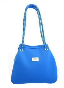 Bolsa Saco Neoprene Cordas Arara Azul