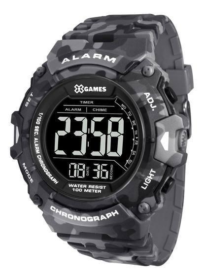 Relógio X Games Masculino Xmppd487 Pxgp Cinza - Refinado