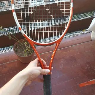 Raqueta Pro Kennex + Grip + Cubre + Antiv. + Cuerda