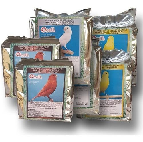 Ocell Pasta Profesional 2k Blanca 2k Amarilla 2k Factorrojo