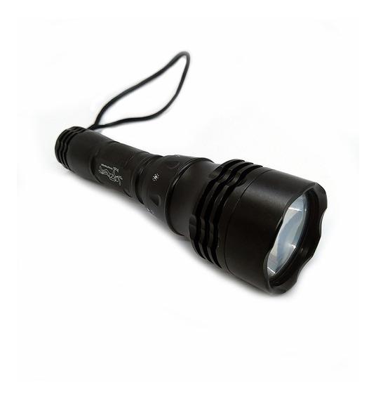 Lampara 800 Lumens Sumergible Con Batería Recargable Linterna Led Para Buceo Envío Gratis!!!