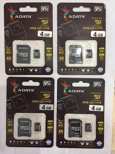 Memoria Micro Adata 4gb