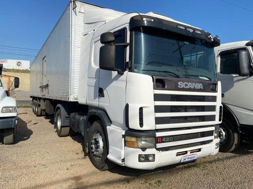 Imagem 1 de 12 de Scania R124 Ga 4x2 Nz 420
