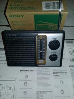 Vendo Radio Sony 2 Bandas