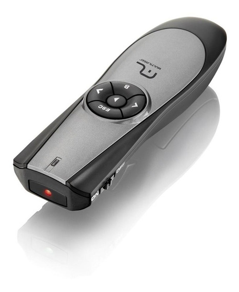 Apresentador Wireless Com Laser Point Presenter Ac164 1 Un Multilaser