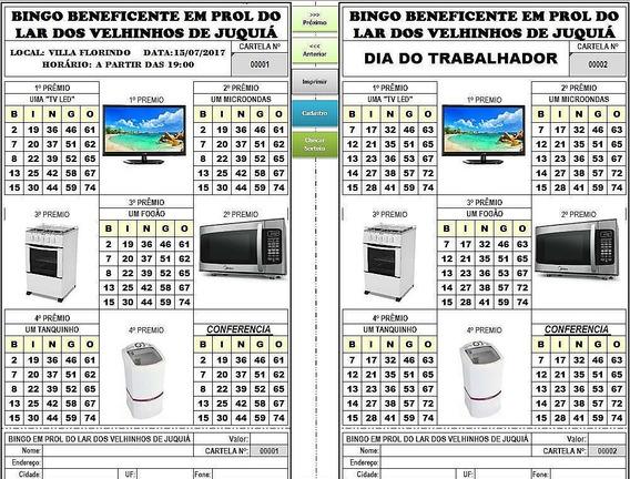 Gerador De Cartelas De Bingo Frete Grátis