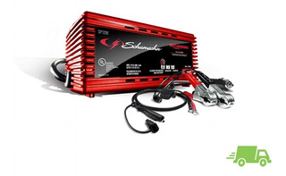Cargador De Bateria Automotriz Auto Schumacher 2a