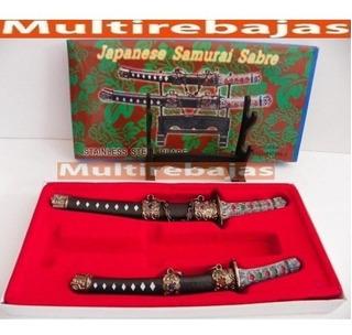 Japones Samurai Sabre Espadas Coleccionable