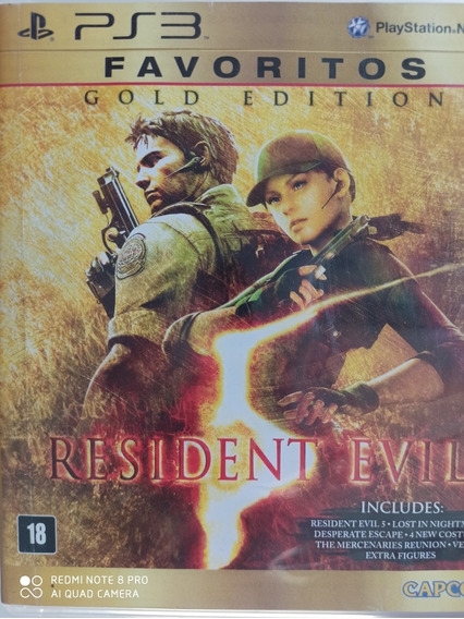 Resident Evil 5 Ps3 Original , A Pronta Entrega