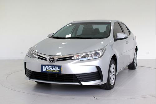 Imagem 1 de 14 de Toyota Corolla 1.8 Gli Flex 4p Automático Cvt - 2019 - Cinza