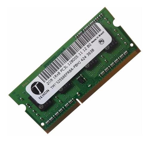 Lote 10 Memória Notebook 2gb Ddr3 1600mhzpc3l12800s Garantia
