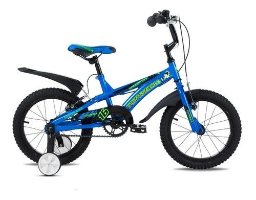 Bicicleta Topmega Speedmike Rodado 16 Infantil Rueditas Niño