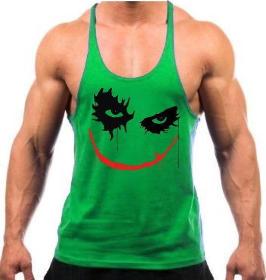 Regata Cavada Coringa Joker Academia Fitness Masculina