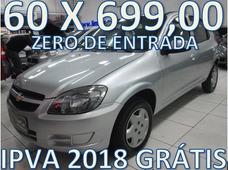 Chevrolet Celta Completo Zero De Entrada + 60 X 699,00 Fixas